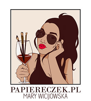 Papiereczek - ręcznie malowane obrazy na zmówienie Poznań, Warszawa, Obraz na prezent